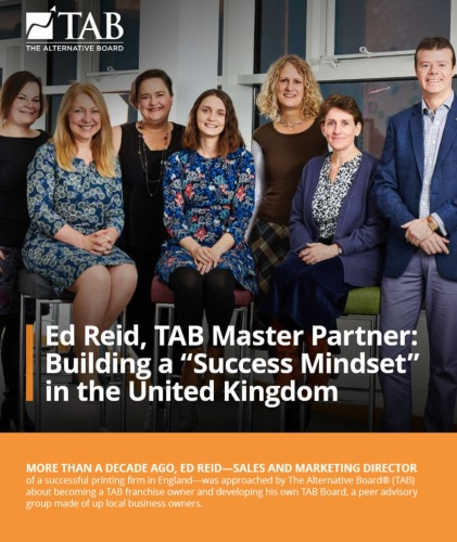 Image of Ed Reid and his team in the UK