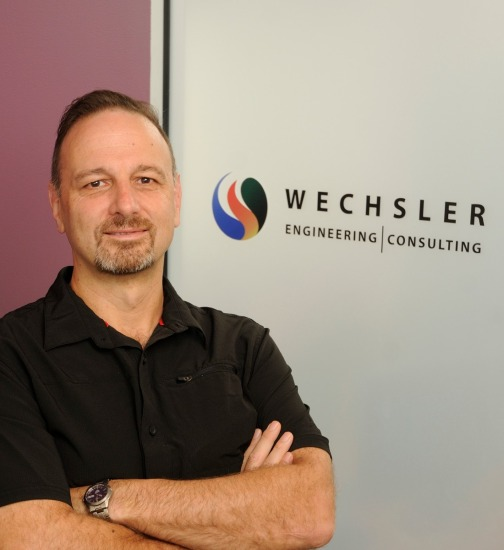 Photo of Tom Wechsler, a TAB Board Member and owner of Wechsler Engineering & Consulting