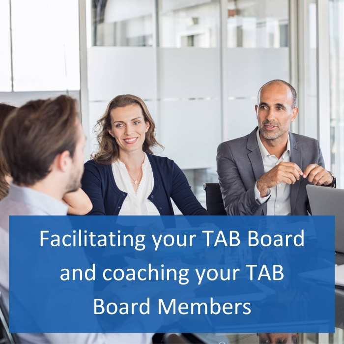 Image of facilitating your TAB board and coaching your TAB board members